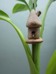 Bird house Pendant Saturday by queencymae