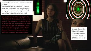Willa Holland and The Crystal Part1 by HypnoHunter