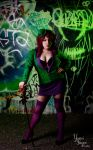 The Riddler - Rule 63 by MagicYuu