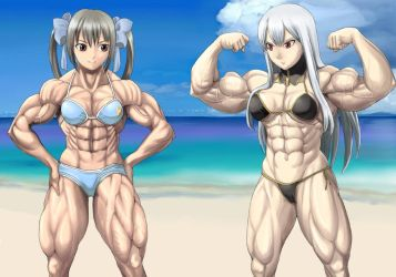 Muscle Girls 19 by SolGravionMegazord