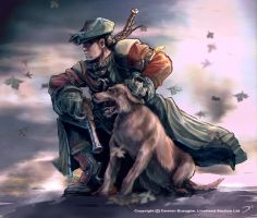 Fable 2 Hero Sketch by OmenD4