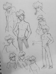 Dump Doodles- Tord  by Ailizerbee08
