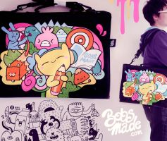 Pens are friends Bag by Bobsmade