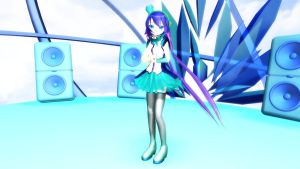 MMD Newcomer Aoki Lapis V.2 by Pokeluver223