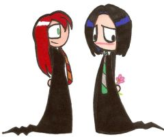 Snape hearts Lily. by pink-placebo