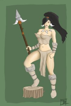 Nidalee by OfficialSamurai