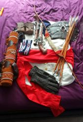 Connor Kenway Cosplay W.I.P 2 by prophet1991