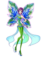 Tecna Dreamix png by TheDamnedFairy