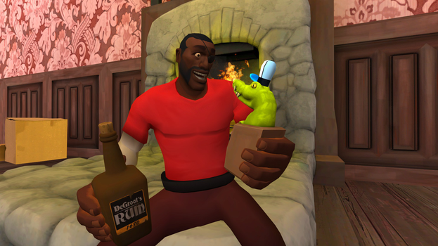 When I Grow Up, I Want to Be a Drunkard (Old) by GojiBob