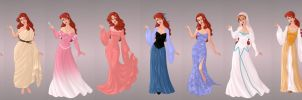 Ariel Wardrobe in Goddess Scene by autumnrose83