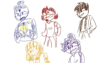 mcsm doodle by GameOver101XD