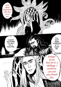 Thorin and Thranduil Page 2 by shirgane777