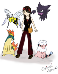Pokemon trainer by Poulp-ed