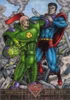 Superman the Legend - Lex Luthor vs. Superman by tonyperna
