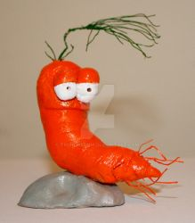 Pete the Carrot Maquette by truncheonm