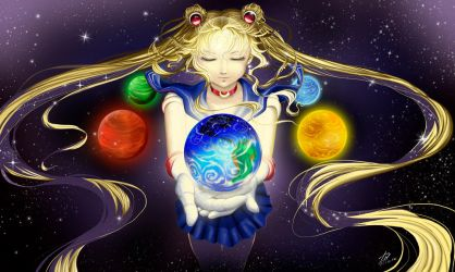 small savior_SailorMoon by Pillara
