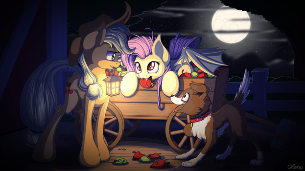 Apple Thief by Ohemo