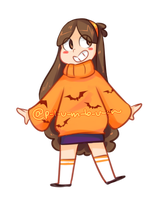 Halloween sweater by p-l-u-m-b-u-m