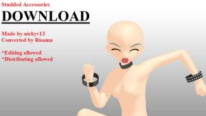 Studded Accessories DOWNLOAD by RiSama