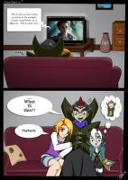 BB:CE: Movie Night...? Comic by Drag0n-Mistr3ss