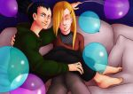 Naruto - Happy Birthday, Shikamaru and Ino by ishime