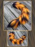 Haunted Raver Yarn Tail - SOLD by Black-Heart-Always