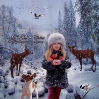 A Little Girl in Winter by GrandeReveuse