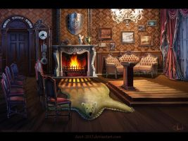 Room in Victorian`s style by Azot2017