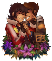 [Voltron] Keith x Lance by Cootsik