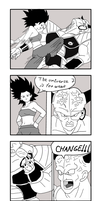 Ginyu in Tournament of Power. Ginyu vs Caulifla by ginyu1992