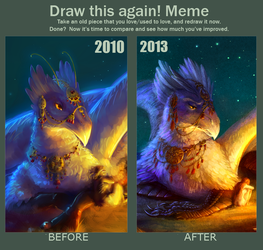 Draw This Again Meme by AironMag
