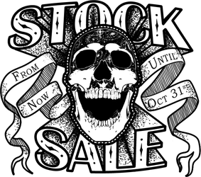 Skull Stock Sale until the end of October! - Ended by AshenCreative