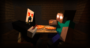 Another pizza party by LockRikard