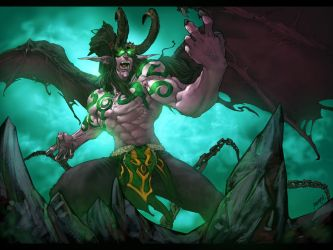 Illidan by rubinh0