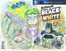 Sketch Cover Dark Knigh Returns by mannycartoon