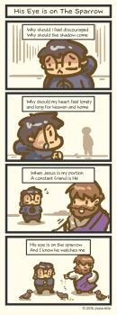 TATComic: His Eye is on the Sparrow by Poporetto
