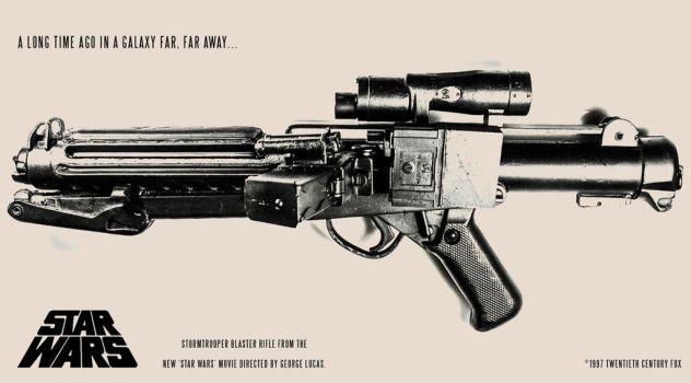 E-11 Blaster vintage promo by ronime