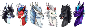Headshots for AeriPlumis by Eternity9