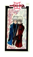 devil may cry 3 by blackflameknight