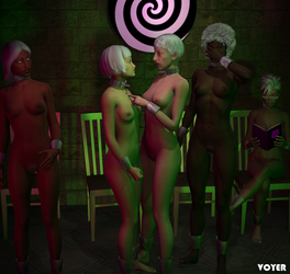 Slavegirls 02 by hypnovoyer