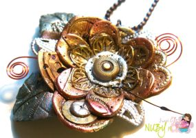 Steampunk Flower by colourful-blossom