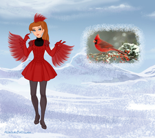 Round 13: Cardinal in Winter by Arimus79
