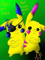 Pika Friends Forever!~ by inuyashalover204