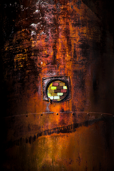 rusty boiler by johntomswift