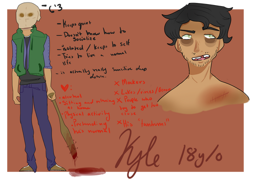 Kyle REF [CPOC/Fandomless??? maybe??] by F1R3-FIRE