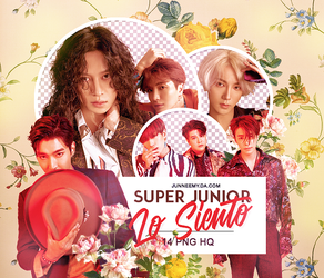 SUPER JUNIOR {LO SIENTO} PNG PACK 02-18 by Junneemy