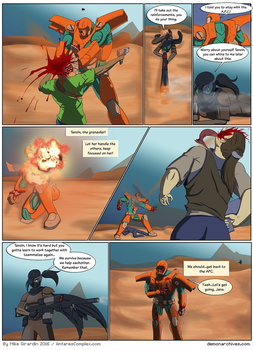 The Demon Archives guest comic 2 of 2 by Gx3RComics
