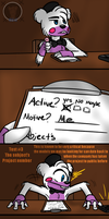 Interrogation (FNAF 6 Comic) Pt.3 by Blustreakgirl