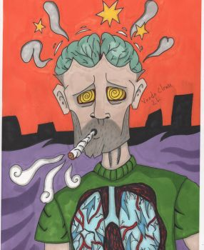 feeling smoked out by voodoclown