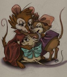 Brisby Family (Pt.1 Brisby girls) by Zeline-Jaydee